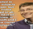 BIll Gates Quotes on success, I failed in some subjects 8